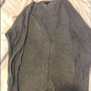 Torrid 2x gray cardigan